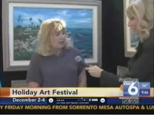 Interview Regarding Holiday Festival Of Art Del Mar Fairgrounds